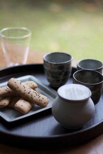 赤木智子の生活道具店 菓子と陶器