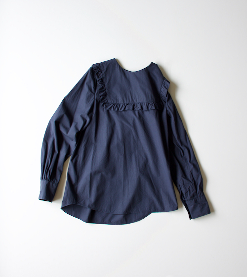 ARTS&SCIENCE Frill york pullover shirt