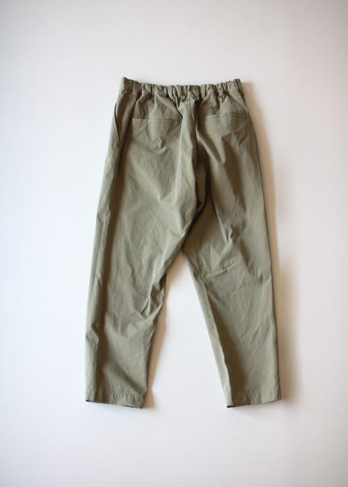 ARTS&SCIENCE  Back gum tapered pants Shoka: 通販