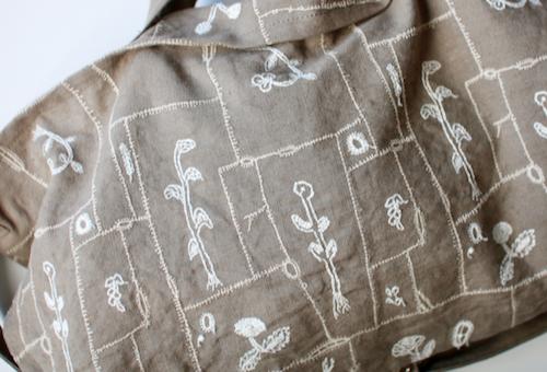 ミナ ペルホネン garden patchwork ショルダーバッグ S
