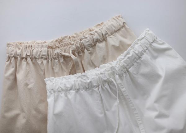 Drawstring pants long