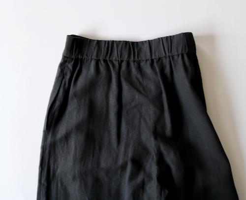ARTS&SCIENCE   Box tuck back gather pants  通販 アーツ&サイエンス