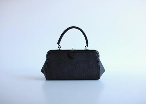 Box gamaguchi bag