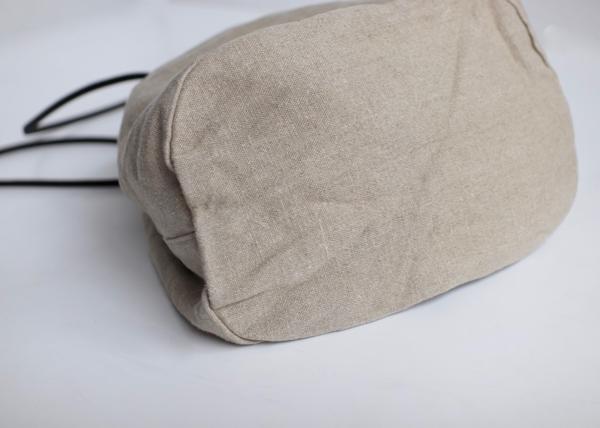 Oval lantern bag L