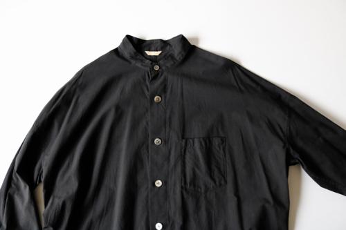 ARTS&SCIENCE  Stand collar shirt OOP long 通販  アーツ&サイエンス