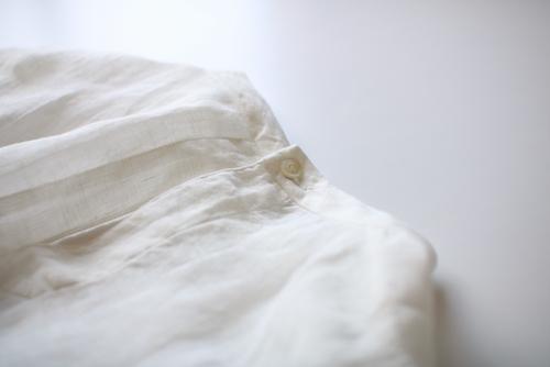 ブラウス 通販 アーツ ARTS&SCIENCE   gather sleeve crop blouse