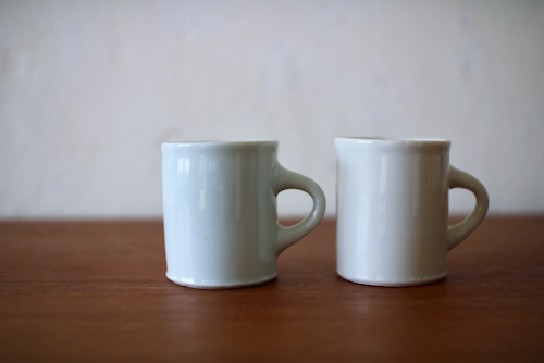 郡司庸久・慶子   磁器カップ&ソーサー