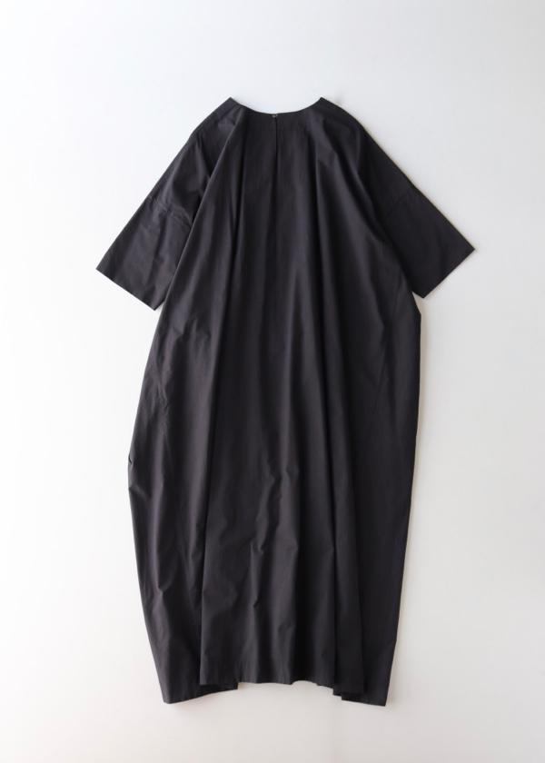 Short sleeve tent line dress