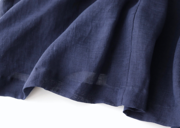 Back long blouse