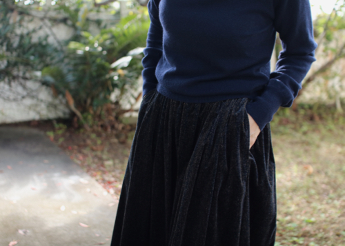 humoresque      long gather skirt Shoka: 通販