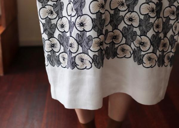 hanakaze フレンチスリーブドレス