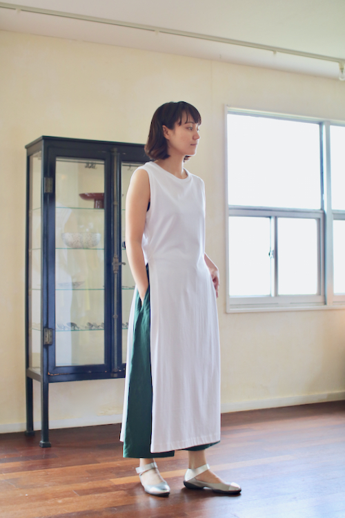 humoresque long slit dress    ユーモレスク 通販 カットソー