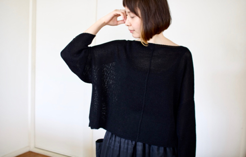 humoresque  boat neck knit