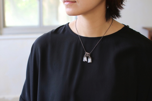 Turtle Forest  19th Century Glass ネックレス juliette apartment ビーズ