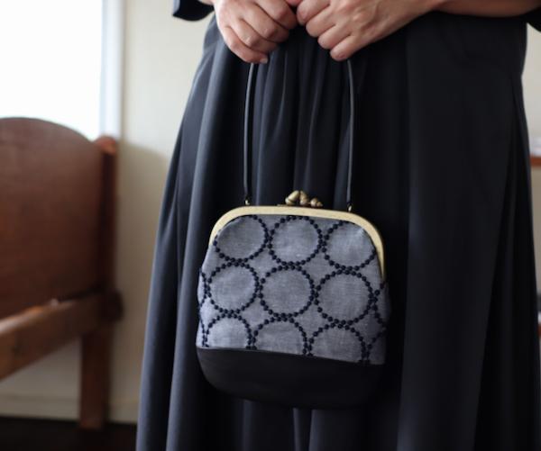 ミナ ペルホネン cuddle bag  −tambourine−
