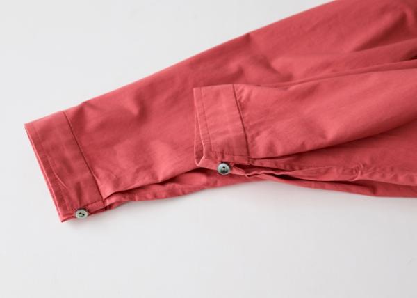 Side tuck long dress