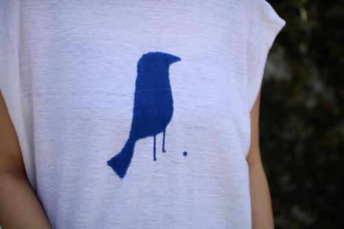 ミナ ペルホネン black bird カットソー Shoka: 通販