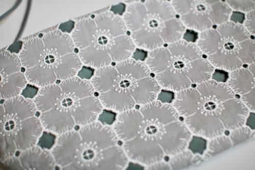 ミナ ペルホネン anemone coupe bag   - gray - mina perhonen 通販 バッグ ポシェット