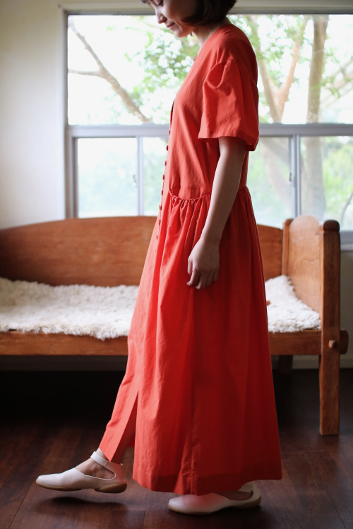 ミナ ペルホネン  sokeri ドレス - red - 通販 dress ワンピース  羽織  mina perhonen