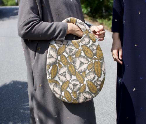 ミナ ペルホネン egg bag jardin