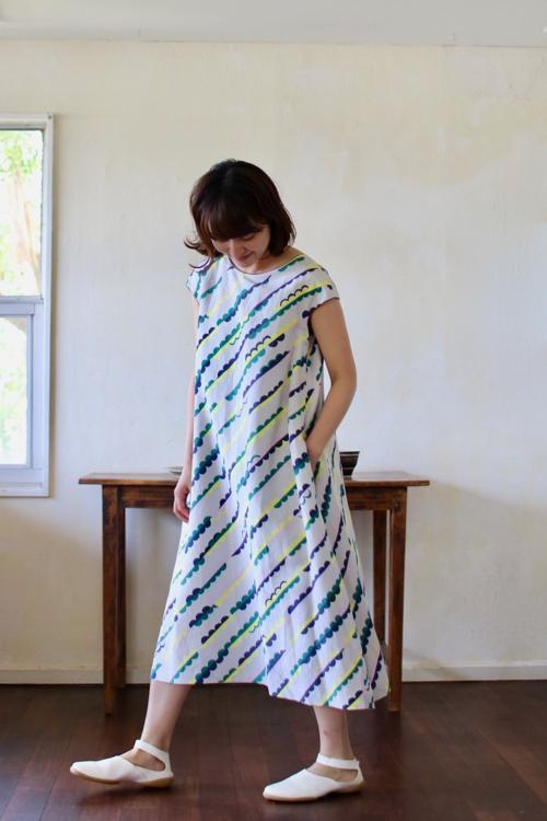 ミナ ペルホネン   lumpy   ドレス – light gray –     通販  Shoka:   mina perhonen   dress ワンピース