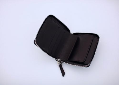 Zipper mini wallet