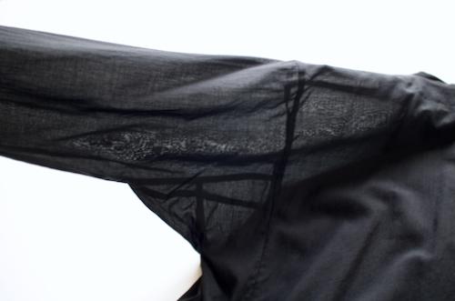 ARTS&SCIENCE Side slit kuruta shirt