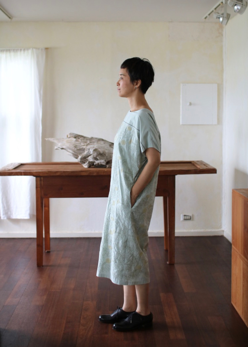ミナ ペルホネン tanpopo half sleeveドレス Shoka: 通販