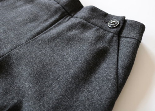 ARTS&SCIENCE Side button wide pants