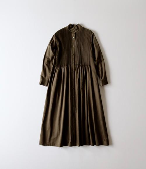 ARTS&SCIENCE アーツ&サイエンス  Pin tuck shirt dress 通販