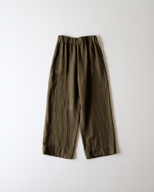 ARTS&SCIENCE    Easy wide pants   - army green - 通販 アーツ&サイエンス