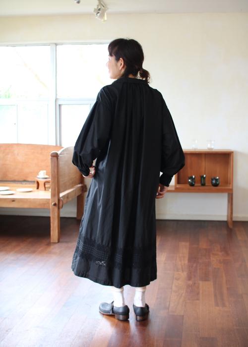 TOUJOURS   Bishop sleeve shirt dress Shoka: 通販