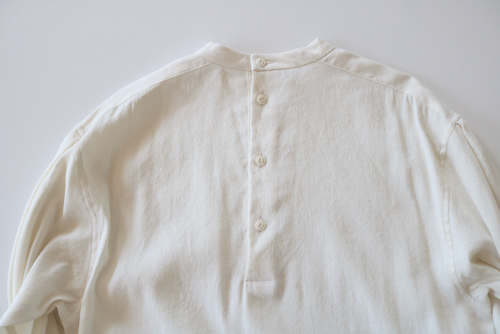 通販  アーツ&サイエンス ARTS&SCIENCE  Back button long shirt