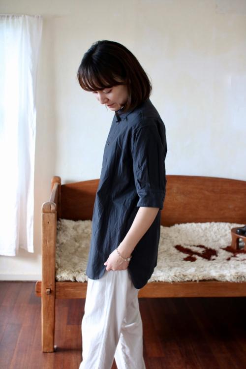 TOUJOURS  Half Sleeve Shirt    通販 トップス トゥジュー  Shoka: