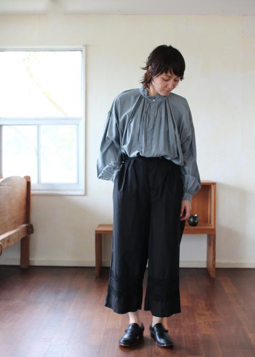 TOUJOURS Pleated underwear baggy pants Shoka: 通販