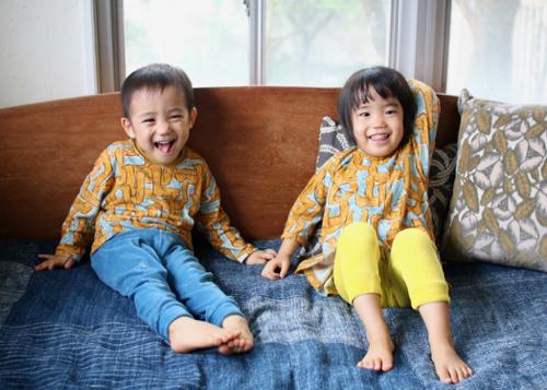 ミナ ペルホネン choucho kids パンツ