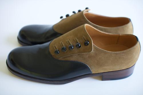 forme  Button up shoes Plain toe Shoka: 通販
