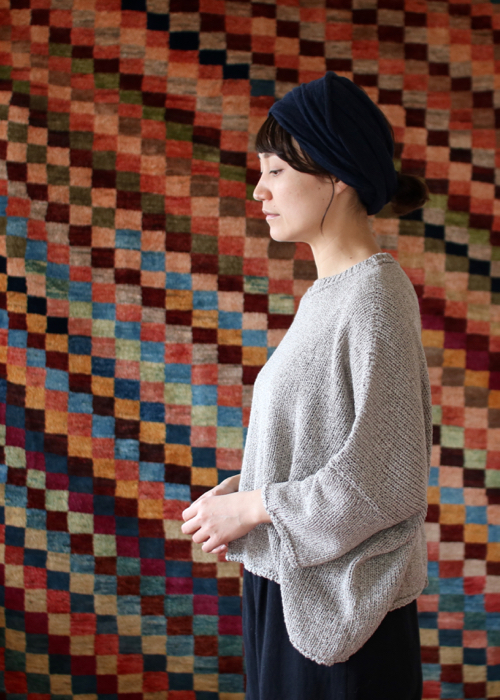 humoresque big shape knit Shoka: 通販