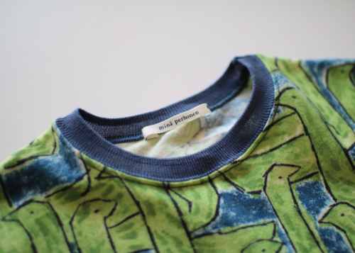 ミナ ペルホネン assemblage カットソー green