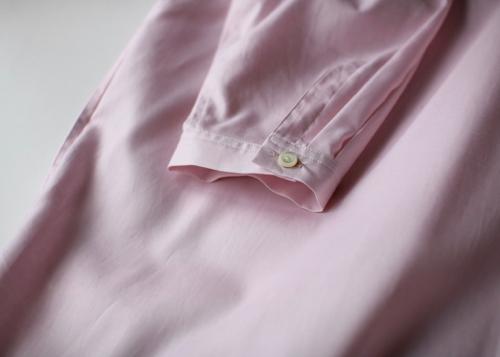 Bulky box shirt dress