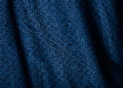 Ethnic wrap blouse long sleeve