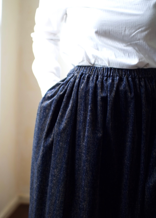 humoresque  long gather skirt 通販 Shoka: