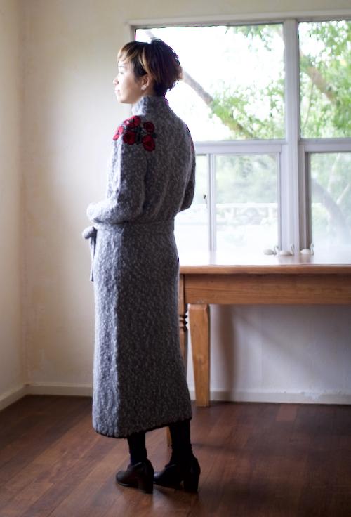 ミナ ペルホネン jardin アルパカニットドレス