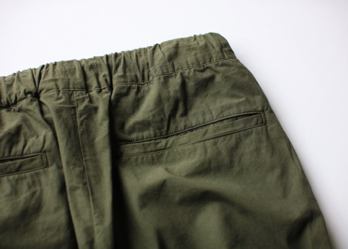 Standard easy tapered pants