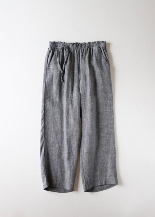 Wide track pants -2 color -