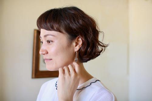 samulo イヤリング トルマリン  サムロ ピアス earring アクセサリー ジュエリー