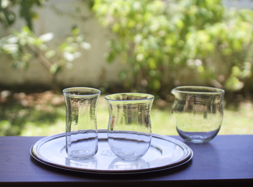 マトリョーショカ グラス