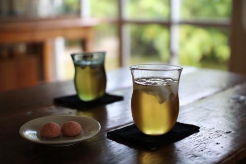 マトリョーシカ Shoka: グラス 吹きガラス 彩砂 るり