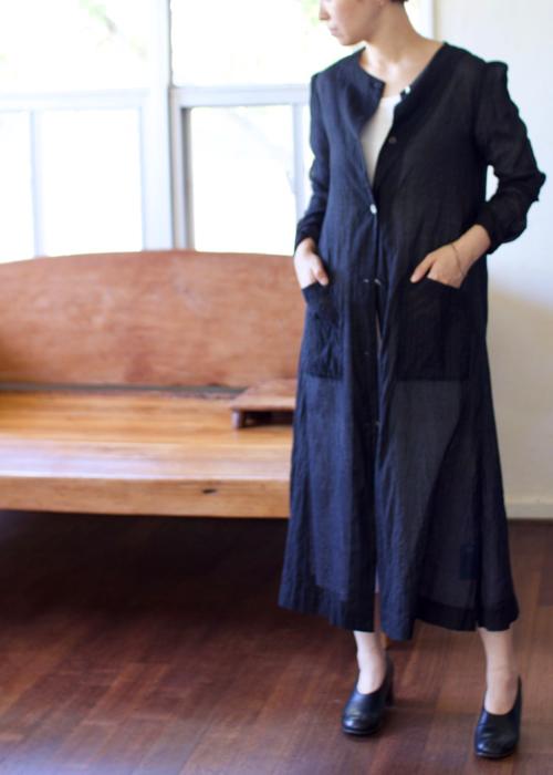 humoresque collarless coat