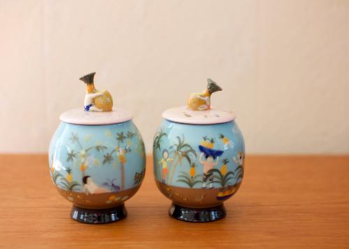スナ・フジタ いきもの陶器展